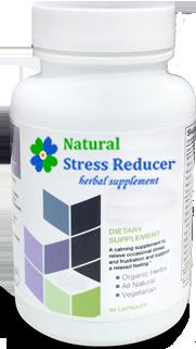 Natural Stress Reducer Bottle